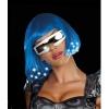 Intergalactic Light Up Blue Wig (Adult)